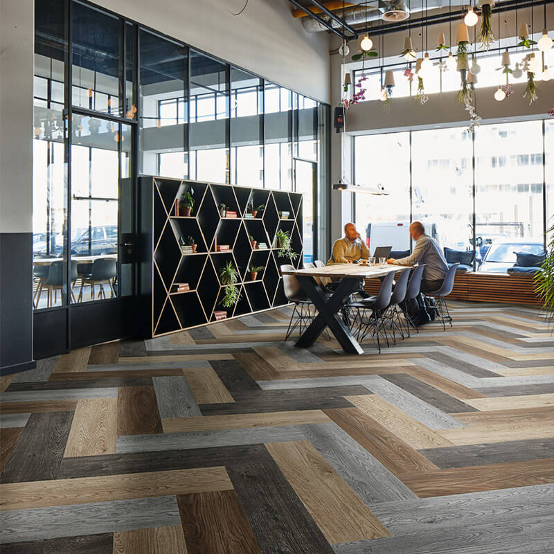 Forbo Flotex Wood-effect Carpet Planks