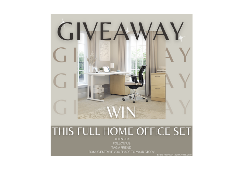 WIN a Full Home Office Furniture Set!
