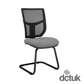 Team Plus Mesh Cantilever Meeting Chair