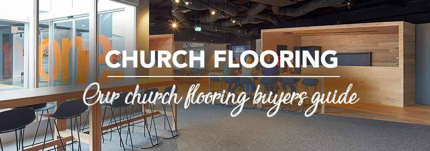 How to buy flooring for a church or place of worship?