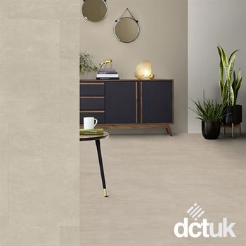 Tarkett iD Inspiration 55 Polished Concrete Light Grey LVT