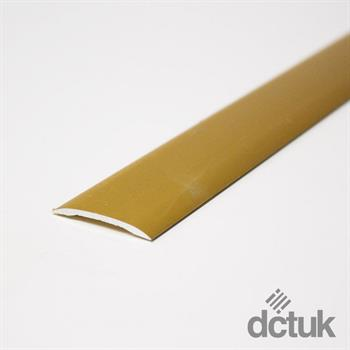 Matt Gold Self-Adhesive Euro Coverstrip