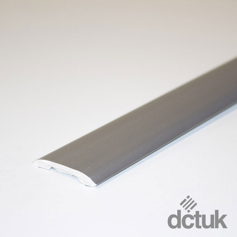 Matt Chrome Self-Adhesive Euro Coverstrip