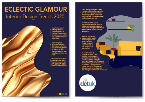 Interior trends 2020: Eclectic Glamour
