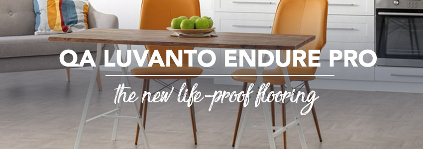 Luvanto Endure Pro - The life-proof flooring
