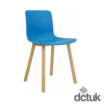 Ben Breakout Chair with Wooden Legs
