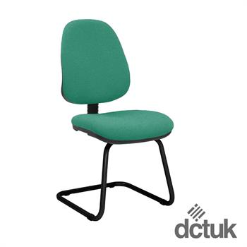 Start Upholstered Cantilever Meeting Chair