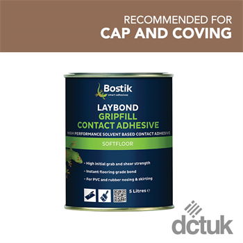 Bostik Laybond Gripfill Contact Adhesive (5L)