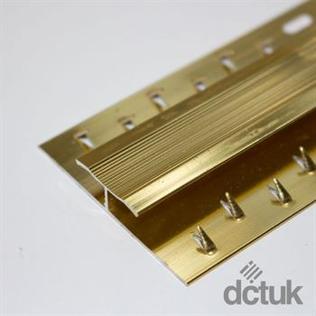 Gold Dual Grip Edging Strip