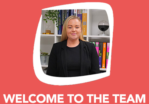 Welcome to the team Kimberley!