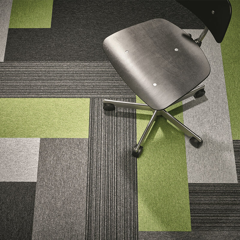 Forbo Tessera Layout & Outline Carpet Planks