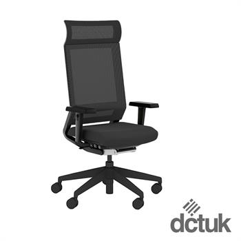 i-sit Mesh Task Chair with Arms + Headrest