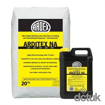 Ardex Arditex NA Bag & Bottle