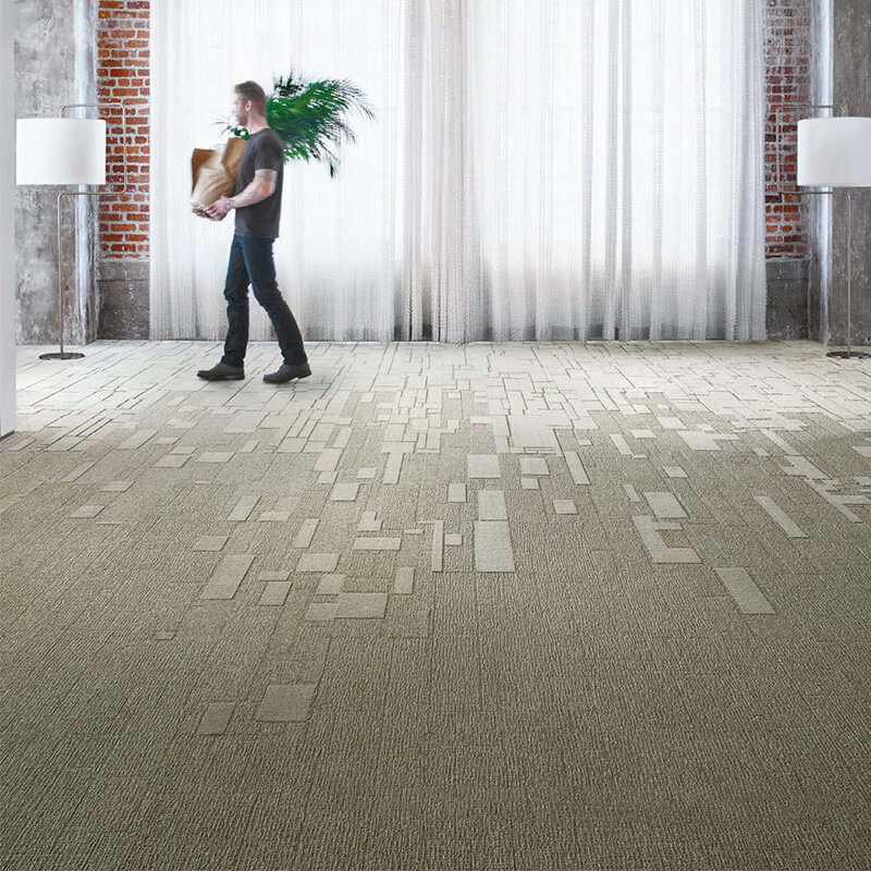 Interface Equal Measure 551 Carpet Planks