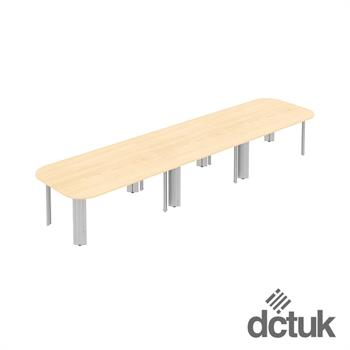 Kassini Double D Ended Conference Table (Large)