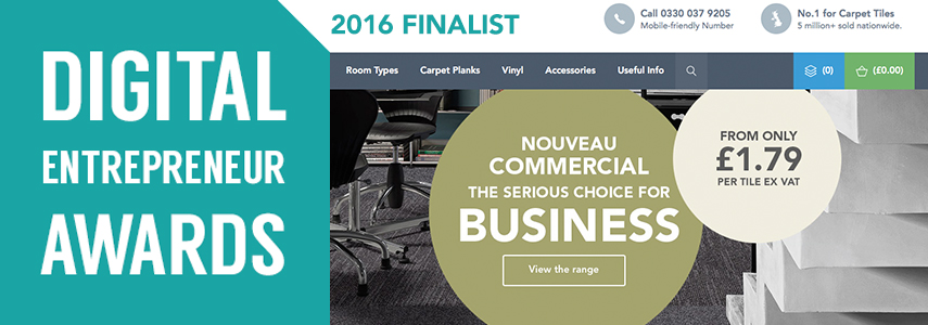 We're a Digital Entrepreneur Awards finalist!