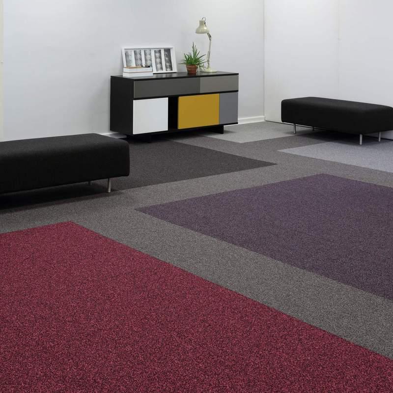 Burmatex Infinity 6413 Neutron Blue Carpet Tiles Dctuk