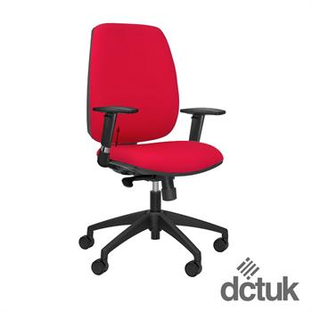 Loreto Upholstered Task Chair with Arms