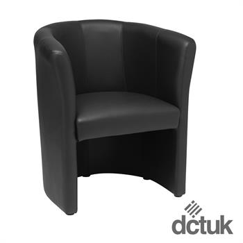 Nero One Seater Leather Tub Chair