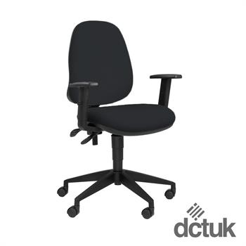 Team Plus Upholstered Task Chair with Arms