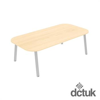 Linnea Double D Ended Conference Table (Small)
