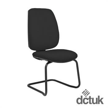 Loreto Upholstered Cantilever Meeting Chair