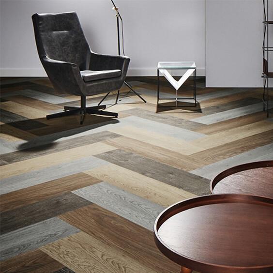 Forbo Flotex Wood-effect carpet plank
