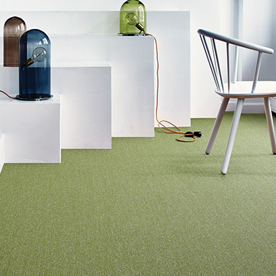 Interface Twist & Shine Micro carpet tiles