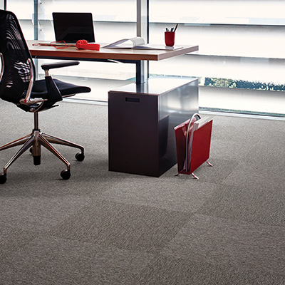Interface Output Micro carpet tiles