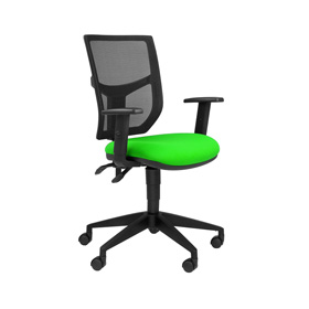 Team Plus Mesh Task Chair with Arms